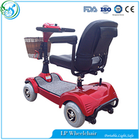 Four wheel outdoor handicapped electric mobility scooter