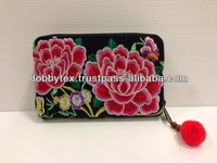 Thai embroidery Hmong purse