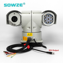 30x Optical Zoom Full HD-SDI Vehicle Mounted PTZ IP Camera
