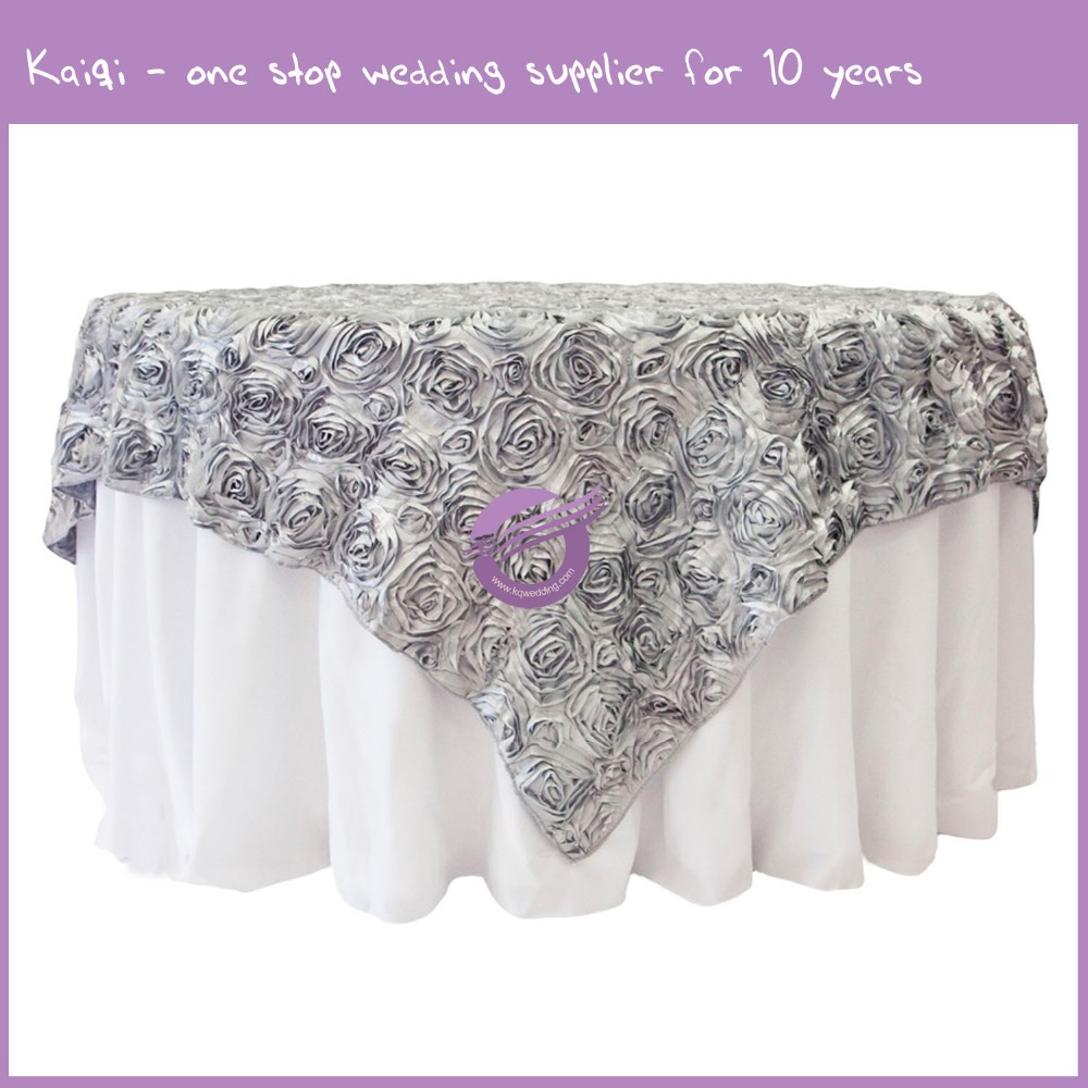 TX18052 manufacturer wholesale round polyester grey table cloths for weddings