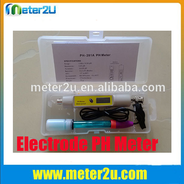 Portable ph electrode solution digital alkalinity meter