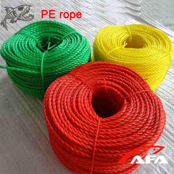 Wholesale high quality PP danline rope with blue tracer line