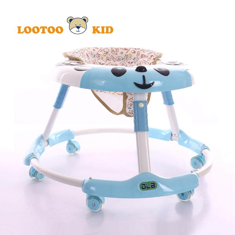 2018 Best 3 in 1 Multi Function Play Activity Baby Walker with Brake animal baby walker