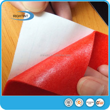 Wholesale Best Selling Adhesive Backed Fabric Velvet for Label Printing