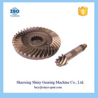 Electric Forklift Spiral Bevel Gear at Competitive Price