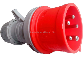 cixi shujie 3P+E+N Industrial waterproof Industrial socket