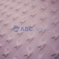 2014 Hot Sell China Produced 100% Polyester Super Soft High Quality Velboa Butterfly