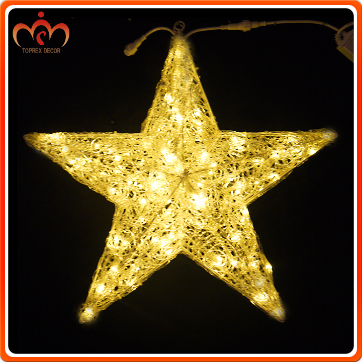 Top-sta-002 LED star battery operated christmas lights