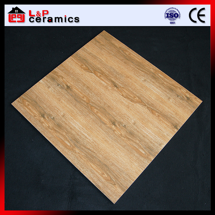 Foshan factory porcelain floor square wood tile