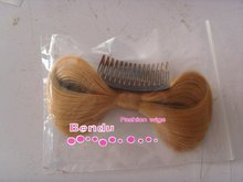 artificial hair hair claws, human hair weft