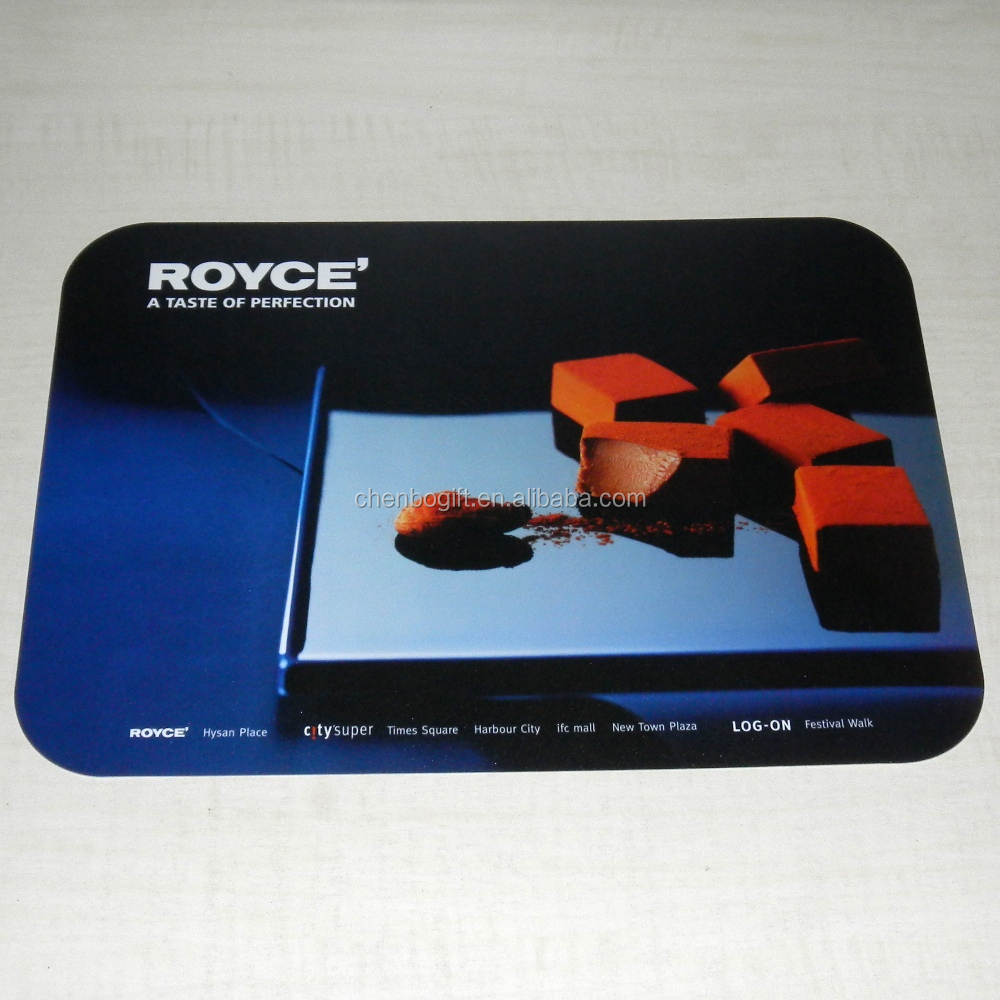 Customized PVC plastic placemat / pp desk pad mat table mat