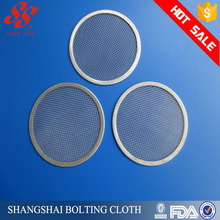 Hot Sale 304 316L Stainless Steel wire Filter screen Mesh / round filter disc
