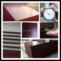 Credible factory exporting 18mm brown/black full core/marine /shuttering film faced plywood