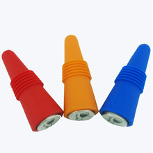 Reusable silicone high quality bottom wine stopper