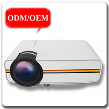 Newest DB400 beautiful colorful home theater powerful smallest pico LED projector