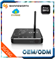 M12S Amlogic S912 2G 16G Android 6.0 KODI 17.1 2.4G/5G .AC WIFI With External Antenna Octa core android smart tv box
