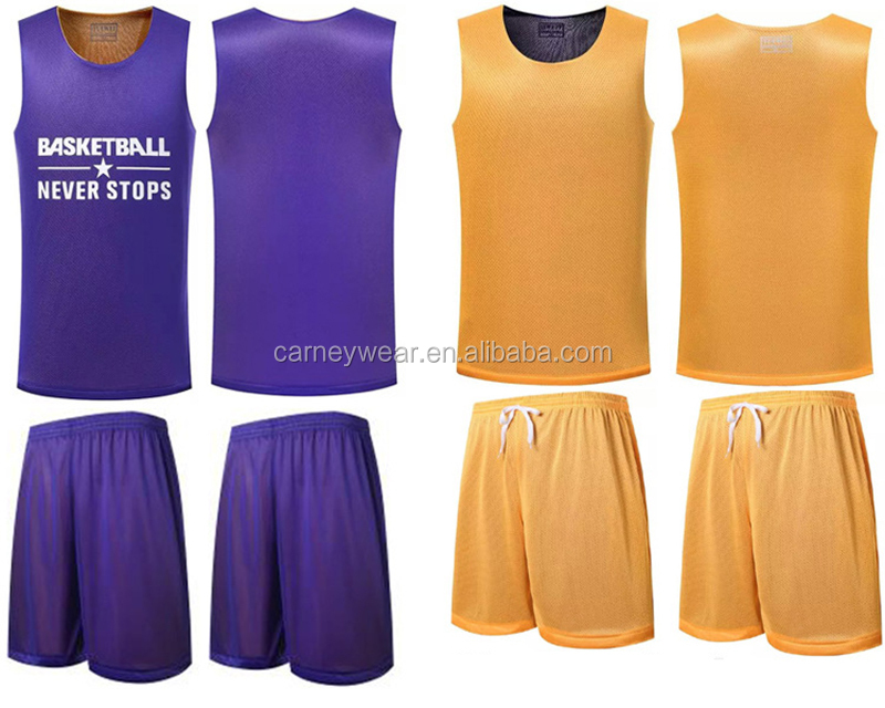 latest nice reversible basketball jersey your own logo design 2017