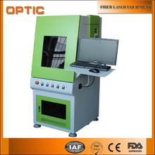 Fiber Laser Metal Etching sealed Machine with Full Enclosed Cabinet
