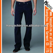 2012 Fation Navy Srtaight Men Jeans (HY1152)