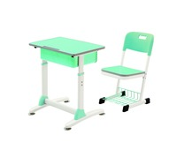 New product modern style of school study table and chairs set