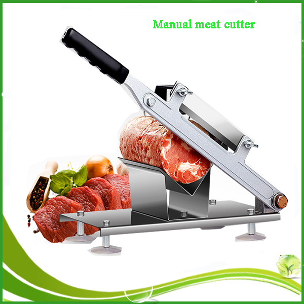 Manual beef slicer / meat cutting machine / Frozen meat slicer