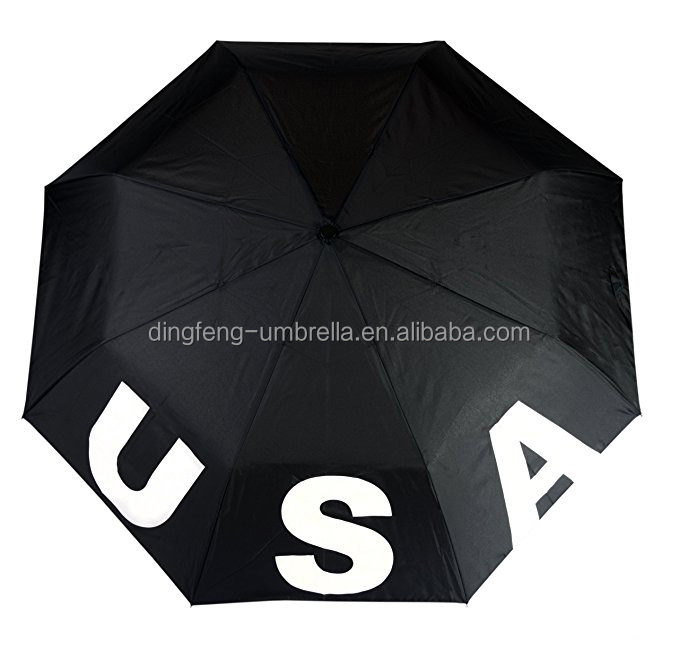 USA & Flag Color Changing Umbrella , Changes Color watch when wet by Rain