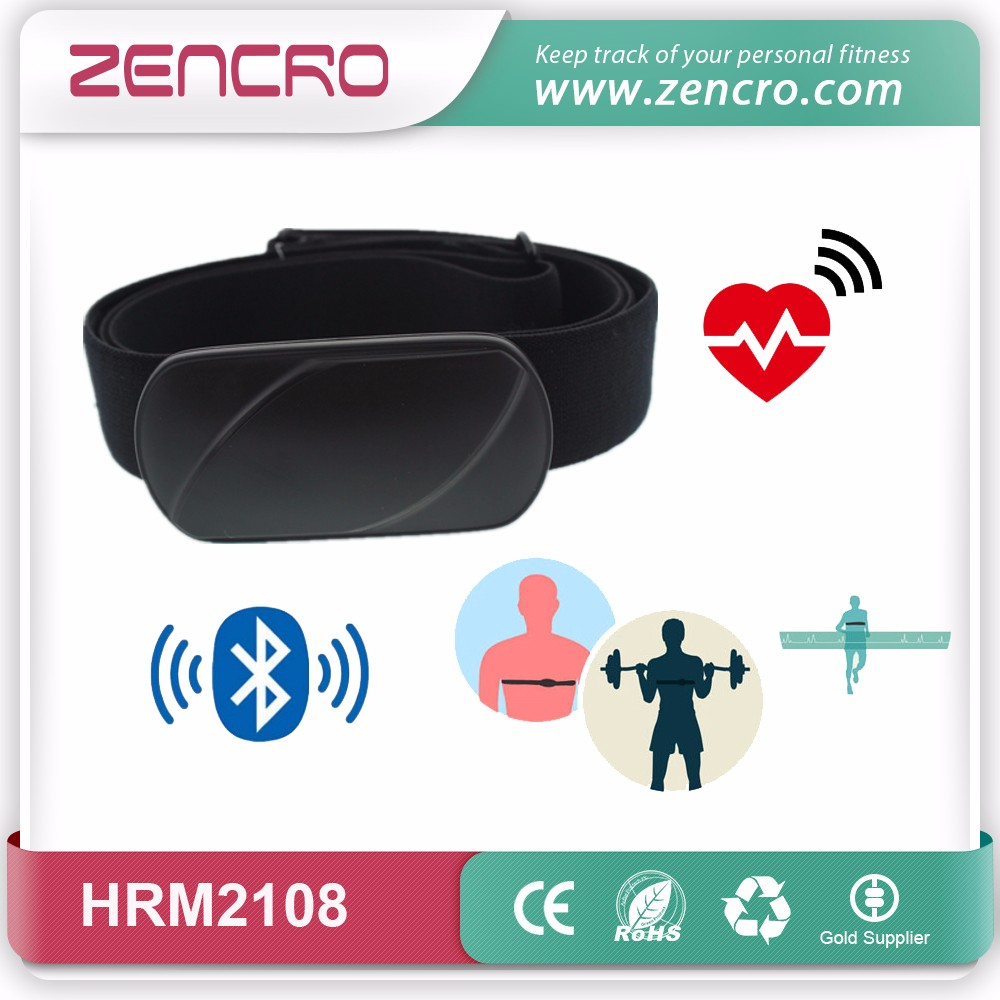 HRM-2108 Wholesale Bluetooth ANT+ Heart Rate Monitor Chest Strap