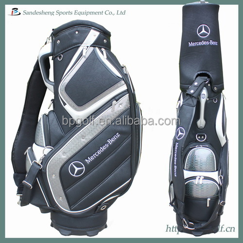 Japan pu leather kyoei golf bag view kyoei golf mercedes for Mercedes benz golf bag
