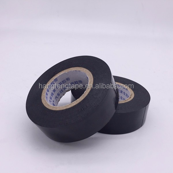 Automotive industry vinyl tape 130mic electrical wrap pvc tape new design
