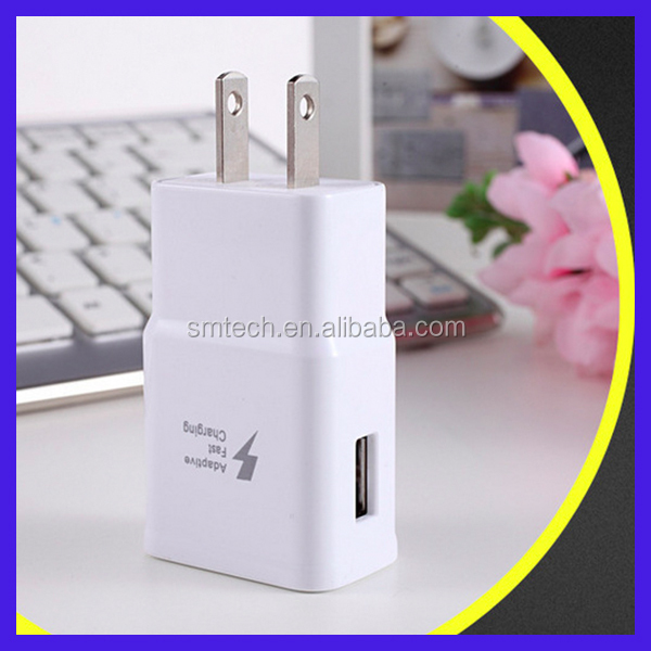Super Fast Mobile Phone Usb Fast Charger for Samsung Galaxy S6 / S6 Edge / Edge+ Universal Wall Travel Charger