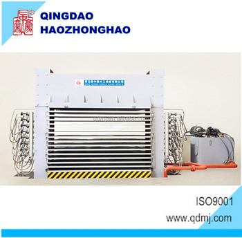 woodworking Hydraulic Hot press machine for face board