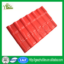 Long royal style low price synthetic spanish roof tile roof material