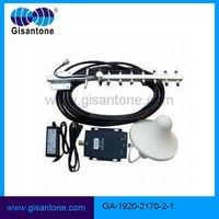3g cell phone repeater/mobile signal amplifier system