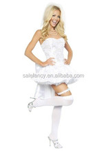 womens sex fantasy dress bride party cosplay adult costume QAWC-3061