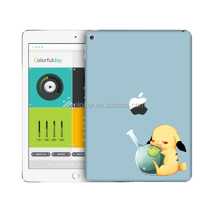 Factory wholesale design tablet pc sticker for ipad4 skin sticker
