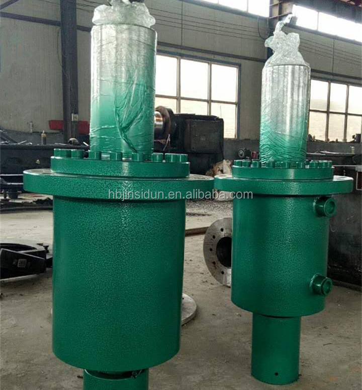 Front Boltable Stroke Ajustable Hydraulic cylinder for Press Brake Machine