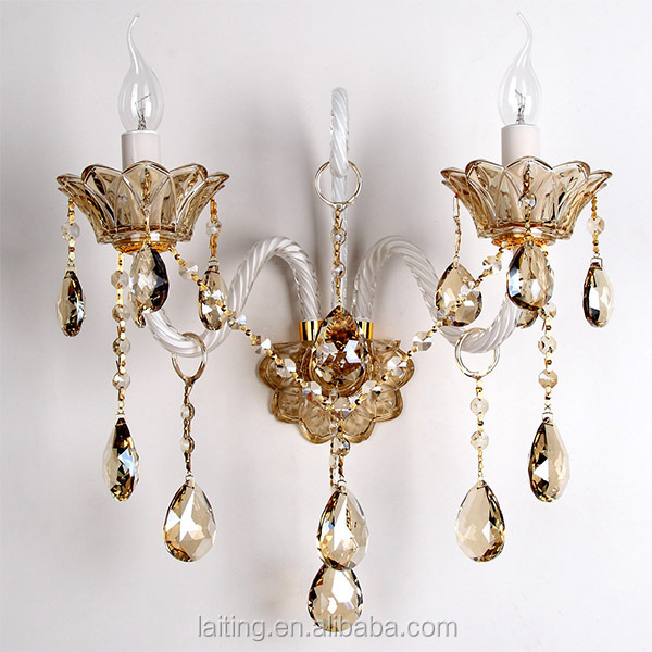 Classical Crystal Moroccan Wall Sconce