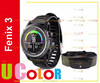 Genuine New Garmin Fenix 3 Gray / Black Band with Heart Rate Monitor GPS Watch Not Ship To US & CANADA