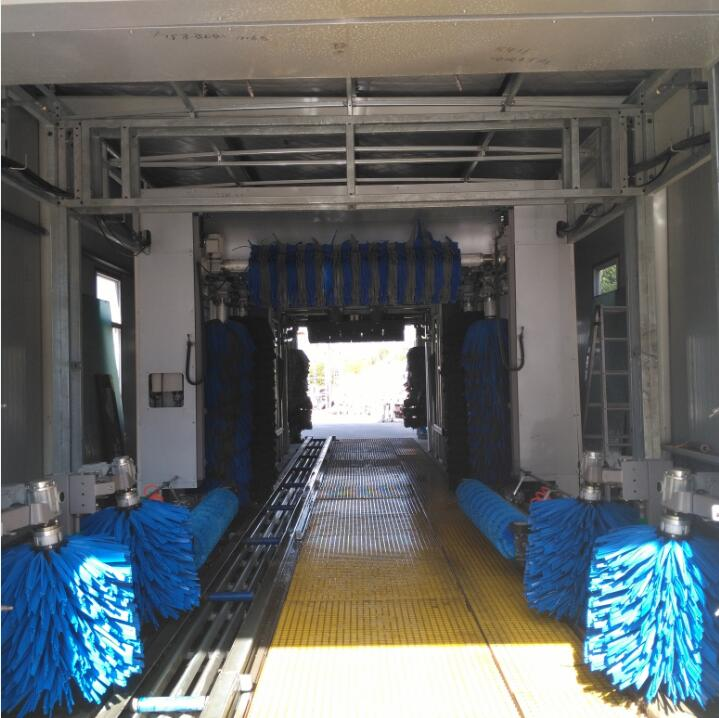 Fully automatic tunnel car wash machine supplier from China washing machine prices