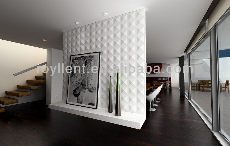 perfect design 3D PVC wall panel 3d wallpaper in high quality