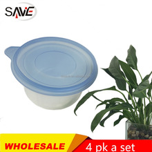 916ML deep round tableware microwave disposable plastic bento lunch box eco-friendly safe food container