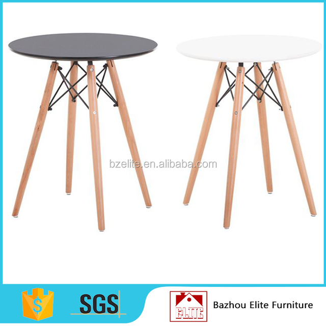 Hot sale round top small conference meeting table