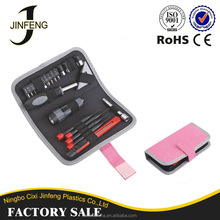 Alibaba TO10 Tool Set Manufacturer High Quality Polyester 23pcs mini hand tool kit for woman and lady