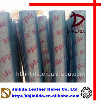 soft normal clear plastic wrapping film in roll