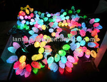 MIXED COLOURS Strawberry Shape Ball LED String Fairy Lights Lanterns Set Party/Home/Patio,Christmas lighting