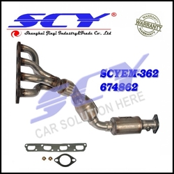 Exhaust Manifold with Integrated Catalytic Converter for Cooper 1.6L-L4 02-06 18 40 7 533 402 18407533402 674-862 674862