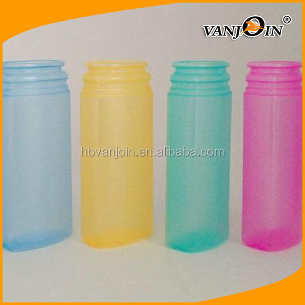 250ML Colorful Plastic Medicine Bottle for Vitamin Pill, Plastic Candy Bottle