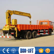 New condition with high quality used telescopic boom truck mounted crane manufacturer