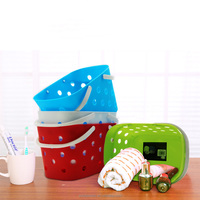 best selling high quality plastic handy baskets for storage