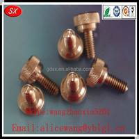 Custom OEM stainless steel/aluminum/brass furniture lock screw, hex socket furniture screw,screw in furniture casters